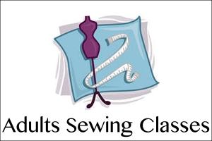 Adults sewing menu