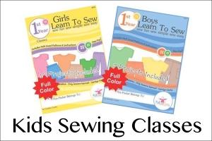 Kids sewing menu